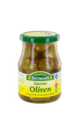 Queen Olives - Stuffed with Garlic                           400223940500
