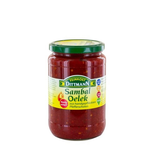 Sambal Oelek - Chili Sauce - Hot                             400223954600