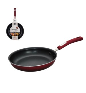 HB Fry Pan Aluminum8in Nonstick Coating with Soft Touch Bake 643700260857