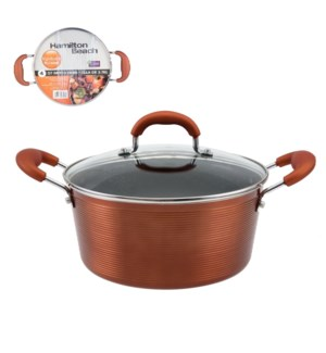 HB Dutch Oven Alum 4Qt Whitford Xylan Nonstick Coating,Coppe 643700273031