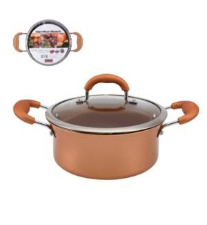 HB Dutch Oven Aluminum3.2Qt Whitford Fusion Copper Ceramic C 643700273109