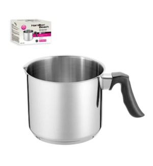 Hamilton Beach Milk Pot SS 2Qt Bakelite Handle               643700301710