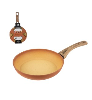 """""""HB Forged Alum Fry Pan 8in, Terracotta Nonstick Coating and 643700324245"""