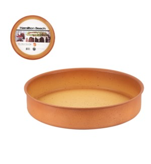 HB Round Cake Mold Forged Alum. 12.5in Terracotta Nonstick C 643700324368
