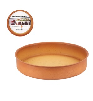 HB Round Cake Mold Forged Alum. 15in Terracotta Nonstick Coa 643700324375