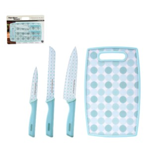 Hamilton Beach Cutlery 4pc Set Nonstick Coating with PP Cutt 643700256577
