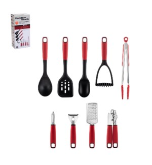 Hamilton Beach Gadget and Utensil 9pc Set Nylon and Stainles 643700311016