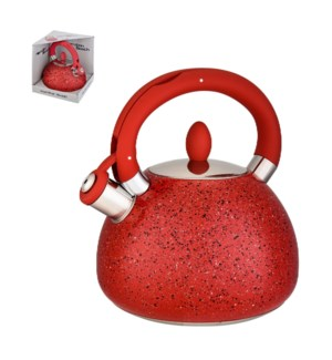 Hamilton Beach Tea Kettle SS 3L Whistling with Soft Touch Ha 643700256713