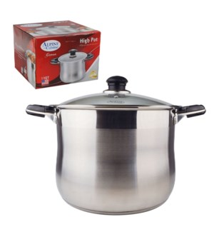 High Pot SS 24Qt with Glass Lid                              643700182722