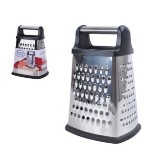 Grater SS 4 Sided 9in                                        643700065018