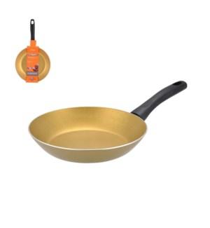 PS 11in aluminum fry pan gold, 2.2mm, Teflon Classic Nonstic 643700244864