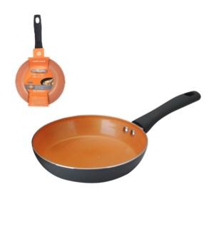 PS Fry Pan Alum 8in Whitform Fusion Orange Ceramic Coating,  643700273413
