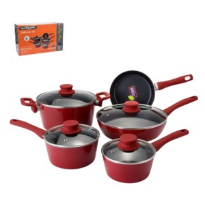 PS Cookware 9pc Set Alum Whitford Xylan Nonstick Coating, So 643700254740