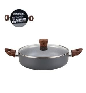 PS Low Pot Alum. 3.5Qt Gray Marble Nonstick Coating,Matt Gra 643700303103
