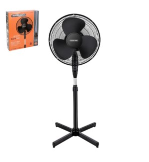 PS Stand Fan 16in 120V,60Hz,48W,Black                        643700292568
