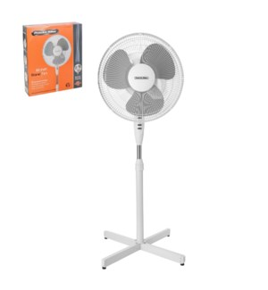PS Stand Fan 16in 120V,60Hz,48W,White                        643700292575