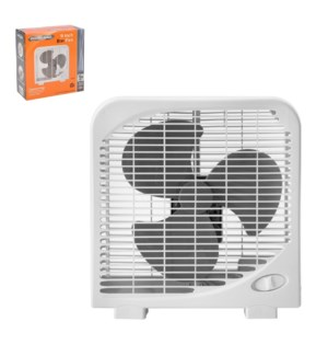 PS Box Fan 9in 120V,60Hz,32W,White                           643700288219