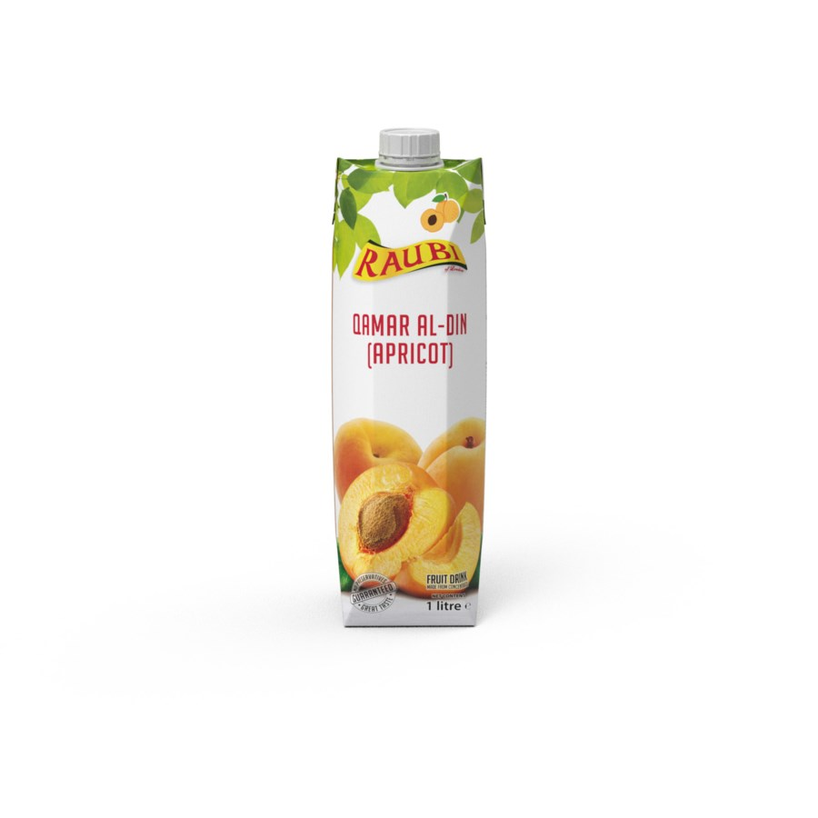 Raubi Apricot Juice 33.8floz 1L                              705632239483