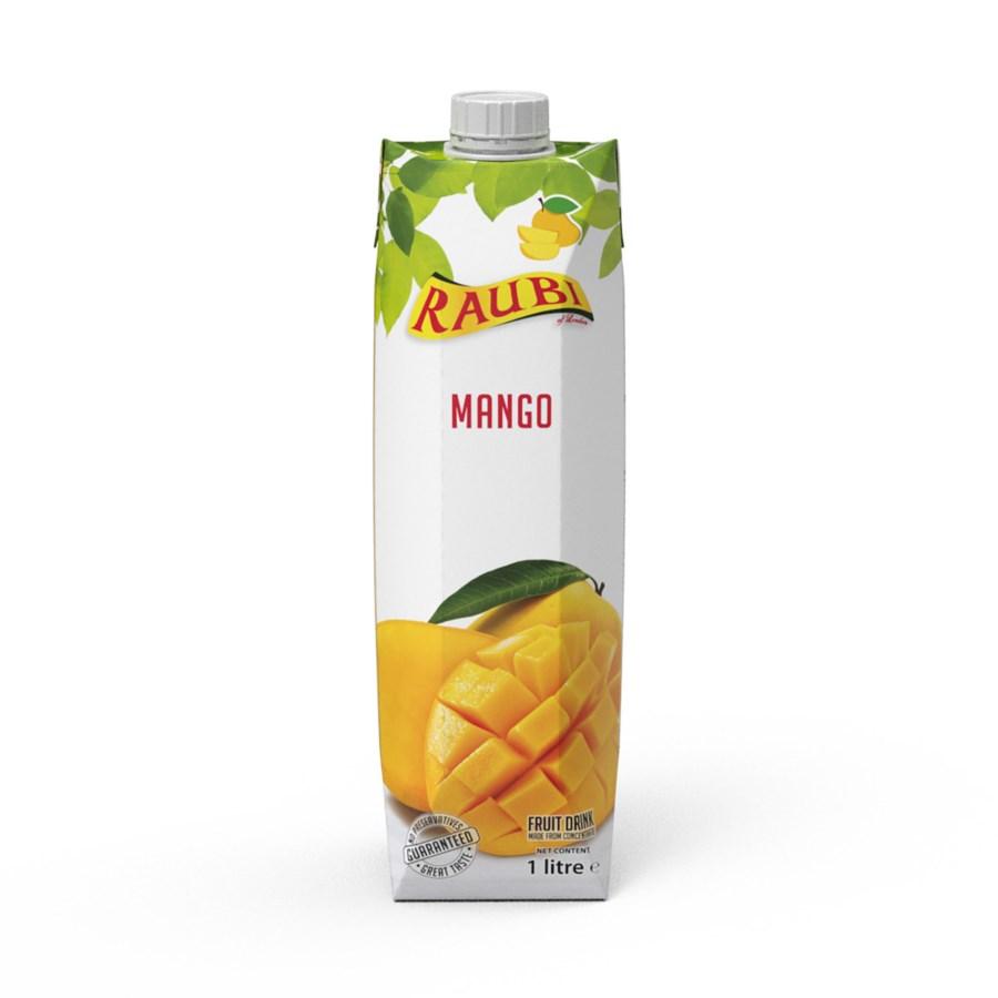 Raubi Mango Juice 33.8floz 1L                                705632239513