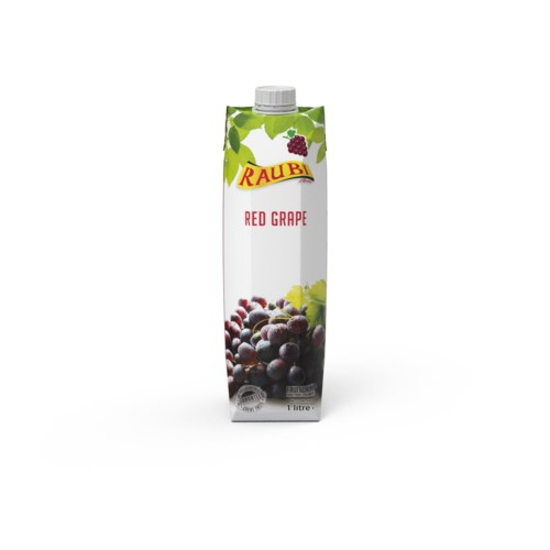 Red Grape Juice Tetra Pak 1L Raubi                           705632239520