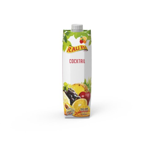 Cocktail Juice Tetra Pak 1L Raubi                            705632239780