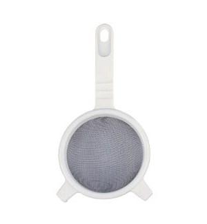 Strainer, Plastic. SS 10cm, 4in diameter                     643700047458