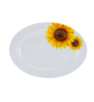 Serving Plate Melamine 12in Oval                             643700241689