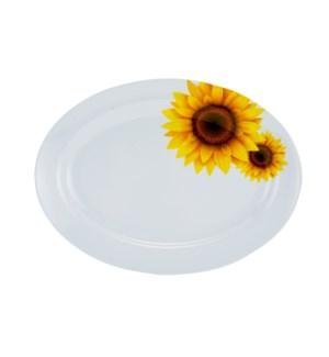 Seving Plate Melamine 14in Oval                              643700241696