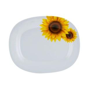 Serving Plate Melamine 12x10inOval                           643700241733