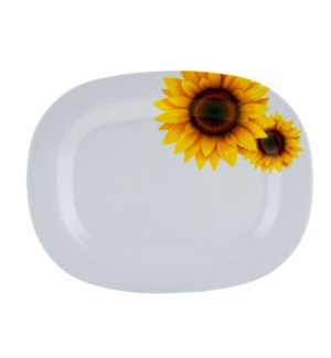 Serving Plate Melamine 14x11in Oval                          643700241740