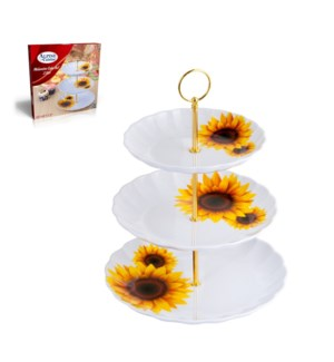 Serving Plate 3 tier Melamine 10in and 9in and 7.5in         643700241764