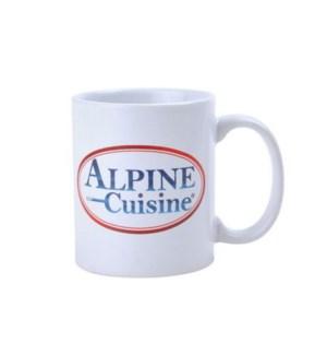 Mug Porcelain 11oz. w/ ALPINE CUISINE                        64370019789