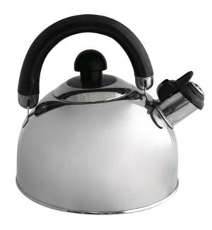 Tea Kettle. SS 2.5L Whistling.Bakelite Handle                643700067555