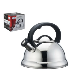 Tea Kettle 2.8Li Whistling Mirror Bakelite Handle            643700115522