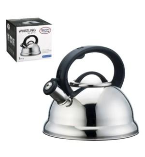 Tea Kettle 2.8Li Whistling Mirror Bakelite Handle            643700115522