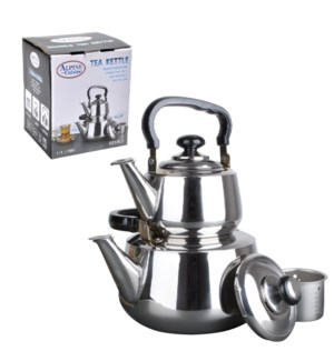 Tea Kettle Double SS 1.2, 3L with strainer                   643700042750