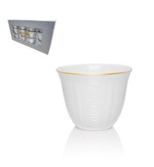 Gawa Cup 12pc Set 3Oz New Bone China                         643700287328