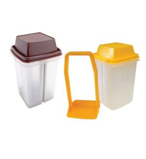 Plastic condiment set Assorted colors                        643700113412