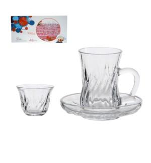 Glassware 36pc set                                           698211654473