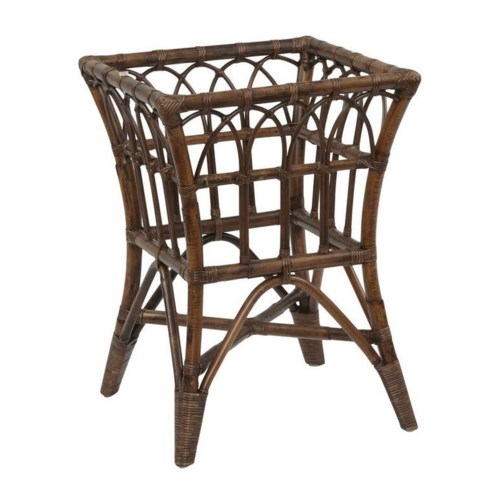 Buy1Get1 FREE! -Greenbrier Square Table BaseFrame Color - Tobacco(Glass Top NOT included)Item t