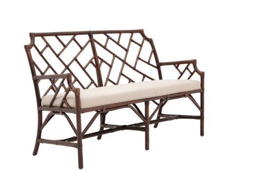 Palm Beach Chippendale SetteeFrame Color - MahoganyCushion Color -  Linen(Originally $635.00)It