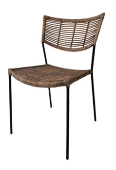 Liam Chair Seat and Back Antique MatteBlack Matte Legs(Originally $195.00)Item to be discontinu