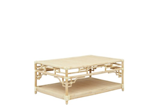 Pagoda Coffee Table Small, Frame to be Painted, Pack 1, Ships via Truck
