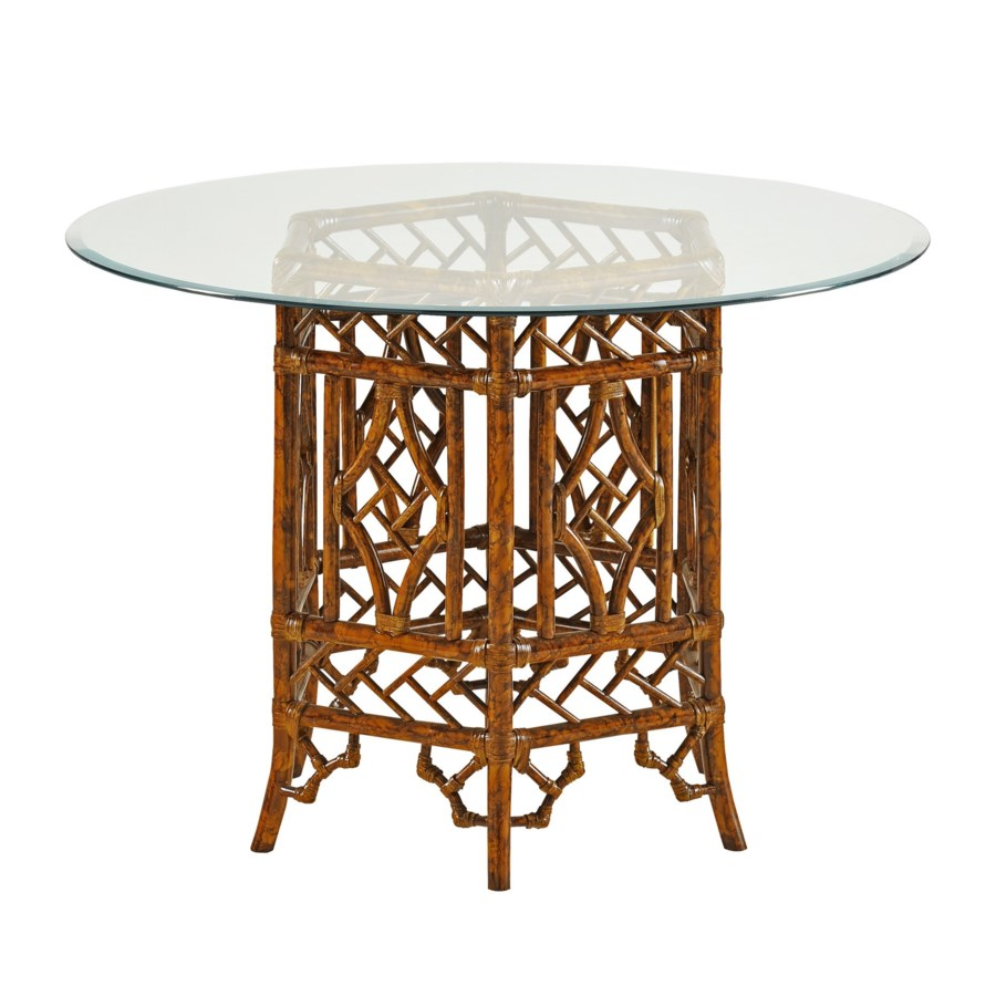 CLOSE-OUT - 15% Off!Pagoda Table BaseColor - TortoiseGlass top NOT IncludedThis Item Will Be D
