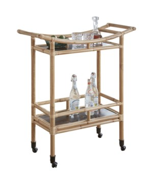 "CLOSE-OUT - 25% Off!Palu Bar Cart Frame NaturalAll Close-Outs Sold ""As-Is"" - All Sales Final.T"