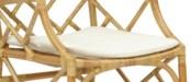 Cushion Holly WhiteBassett Hall Arm ChairPack 1