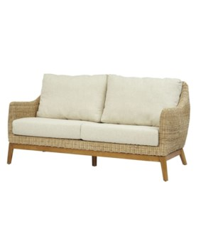 15% OFF -Metropolitan SetteeFrame Color - Natural Weave Color - Natural Cushion Color - CreamI