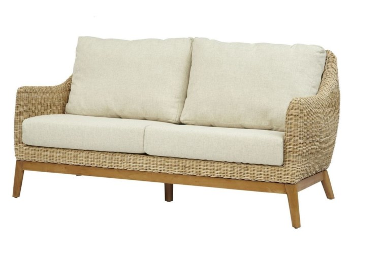 Metropolitan SetteeFrame Color - Natural Weave Color - Natural Cushion Color - Cream