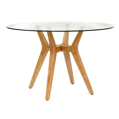 CLOSE-OUT - 50% OFF!Urbane Table BaseFrame Color - Natural  Glass Top NOT Included This Item W