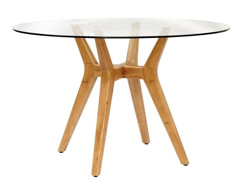 Urbane Table BaseFrame Color - NaturalGlass Top NOT Included